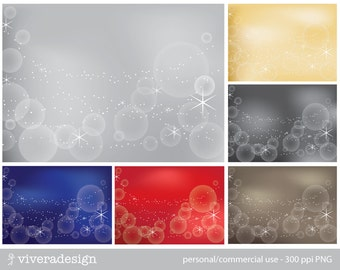 Shimmering & Glittering Bokeh Background - Digital Paper Pack