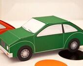Car Favor Box - DIY Printable PDF