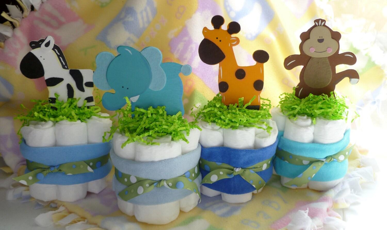 Safari Diaper Diaper Cakes Safari Animal