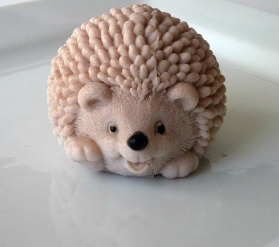 Marty the Hedgehog Soap Honeysuckle