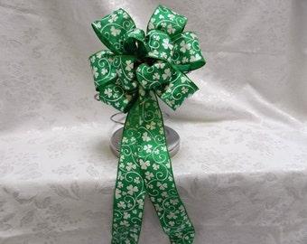 St. Patricks Day decorative Bow