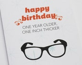 Thick Birthday Glasses