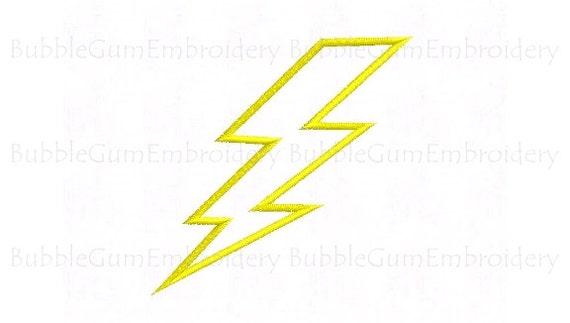 lightning bolts design