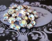 Sparkly Vintage Grandma Brooch