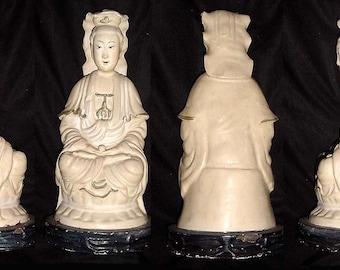 Kuan Yin, ceramic