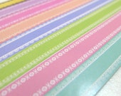 Pretty Rainbow Laces -  Origami Lucky Star Folding Paper - pack of 160 strips