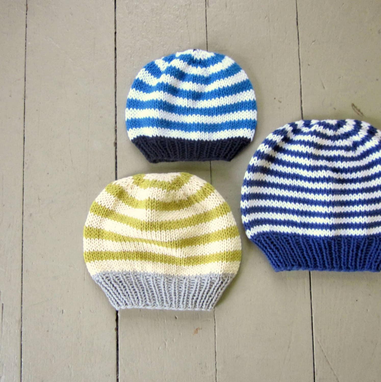 Knitting Pattern For Basic Hat : Pattern basic hat knitting pattern PDF knitted by sweetbabydolly