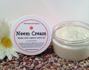 Neem Cream - Organic Neem Oil