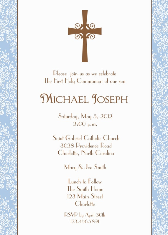 il_570xN.433529837_p6m8 first holy communion invitation baptism confirmation baby,Religious Baby Shower Invitations