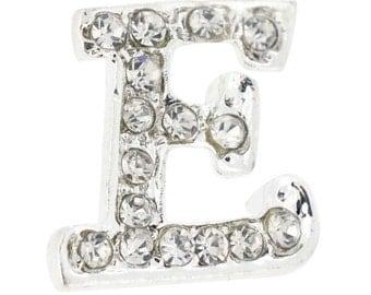 Letter E Tag Pin Brooch Pin 1012305