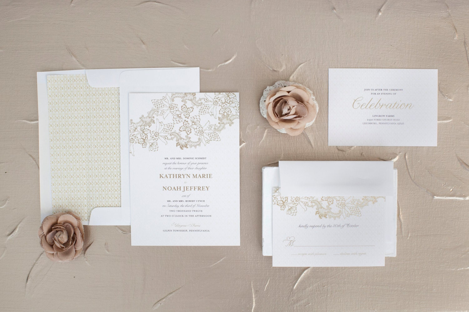 wedding ideas april rustic chic wedding invitation samples by blushprintables 27808