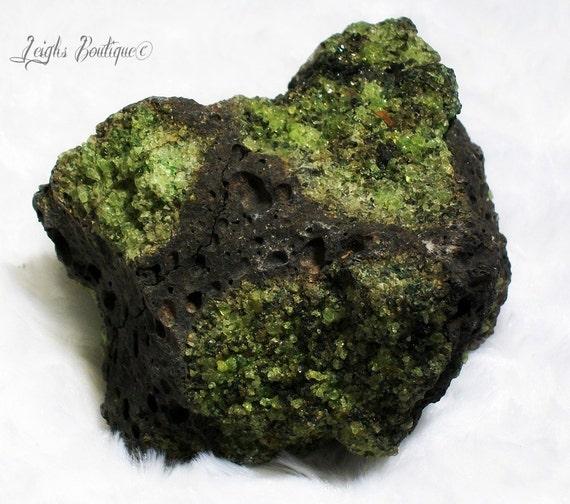 Large Rough Peridot Stone