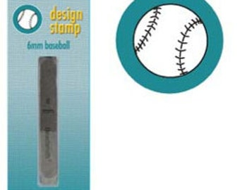 Baseball Metal Design Stamp-B-Brand New-Steel Stamp for Metalwork- 6 mm