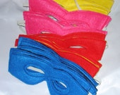 20 Super Hero Childrens MASKS Party Pack