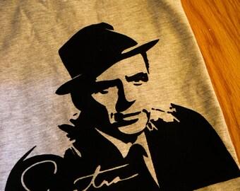 Frank Sinatra Screenprinted T-Shirt