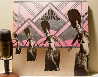 "ON SALE Ethel Waters Vinyl Record Album 1920 & 1930s Vocalist Jazz Blues 2LP ""Ethel Waters' Greatest Years""(Orig.1972 Cbs)"
