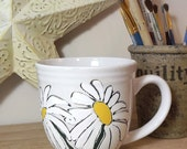 Dancing Daisies Coffee Mugs