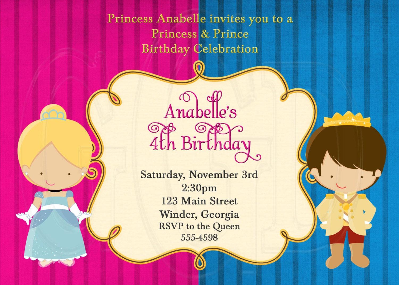 Princess Disney Invitations as nice invitation sample