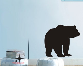 Bear animals Kids Nursery----Removable Graphic Art wall decals stickers home decor