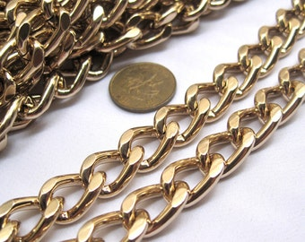 2ft Curb Chain 10x14mm Link Supplies Aluminum Jewelry Design ac075