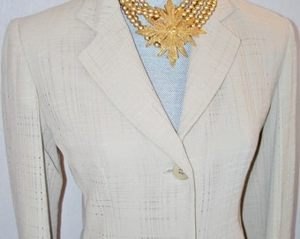 Emanuel Ungaro Skirt Suit Sz US 2 European 36