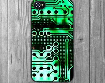 Circuit Board iPhone Case - iPhone 6 iPhone 5s iPhone 5c iPhone 4s