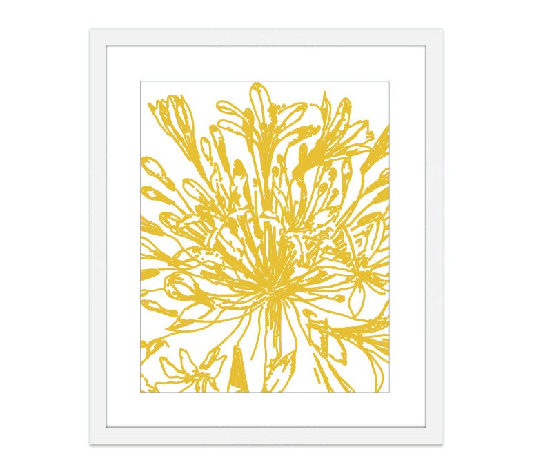 Botanical Flower Digital Print Vintage Inspired by AldariArt
