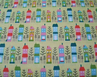 Fabric Yellow Happy Home So Happy Together  Riley Blake  1 Yard