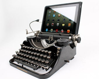 USB Typewriter Computer Keyboard -- Underwood Model F c. 1930s