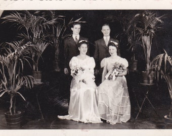 Sweethearts of the Dance - Vintage Photograph (T)
