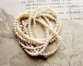 Cultured Seed Pearls- Genuine- Jewelry Supplies