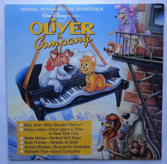 Rare Oliver And Company Vinyl Soundtrack 1988