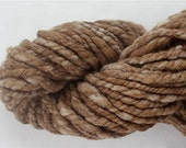 RESERVED FOR No2WillowLane Yarn 50 Yards Alpaca / Babydoll Southdown Wool Undyed  Natural  White and Brown Doll Hair (More Avail.)