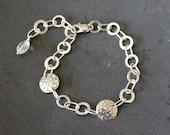 Sterling silver handmade chain Bracelet