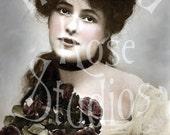 Aida-Victorian/Edwardian Woman-Digital Image Download