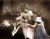 Victorian Girls and their Patient-Digital Image Download
