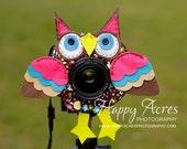 Lens Bling - Brown Owl
