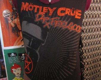 Men's MOTLEY CRUE Slashed N Destroyed Shirt