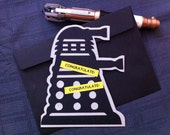 Dalek Greeting Card with Custom greeting - Doctor Who inspired