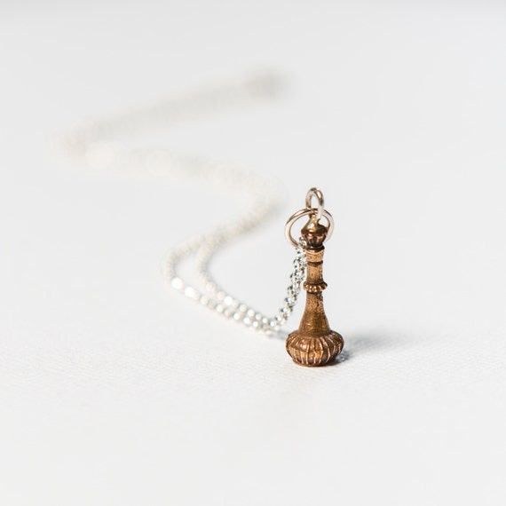 Genie Bottle Necklace: I Dream Of Jeannie Bottle From The American By