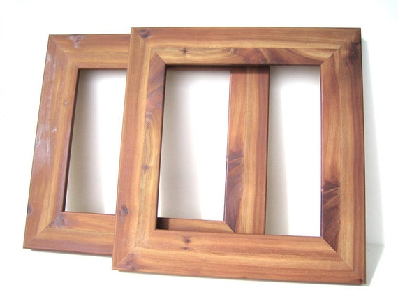 rustic wood style frames cedar bonanza wood home decor picture frames