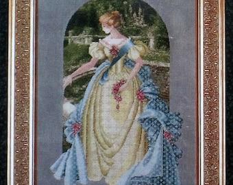 Lavender & Lace - Queen Anne's Lace - Cross Stitch Chart 34