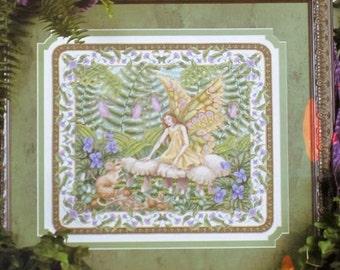 Woodland Faerie - Teresa Wentzler - OOP - Cross Stitch Chart - Leisure Arts