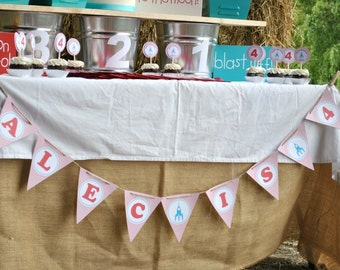 Rocket Party Banner (Bunting)