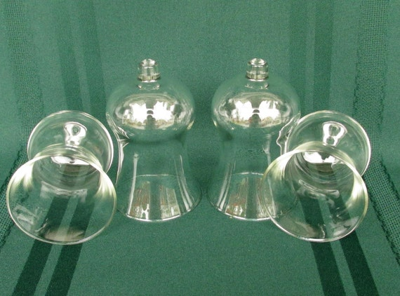 Home Interior Votive Cups Candle Holders Set Of 4 Unused