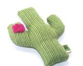 Organic Catnip Toy Flowering Cactus