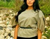 Green Woollen Blouse