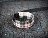 NEW Design Pink Tartan Plaid Wrist Strap - DSLR Wrist Strap Camera Strap