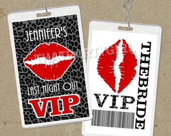 Bachelorette Party VIP Pass - Digital U Print