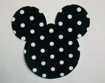 Minnie Mouse Applique - Iron On
